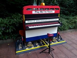 Photo of piano